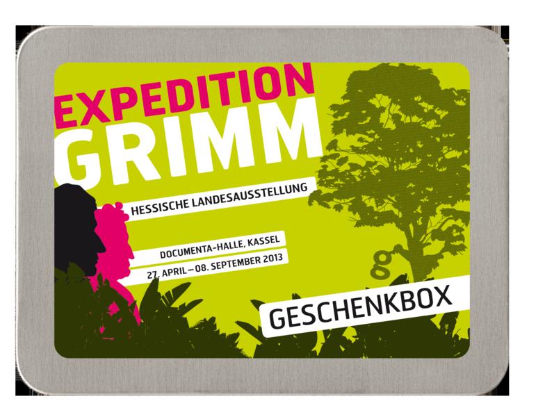 Geschenkbox Expedition Grimm